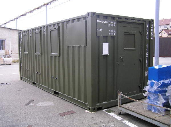 Military Container Iso 1c Medical Shelter For Patients