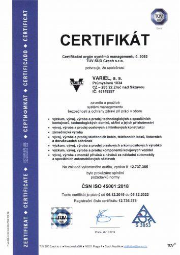 ISO 45001_CZ