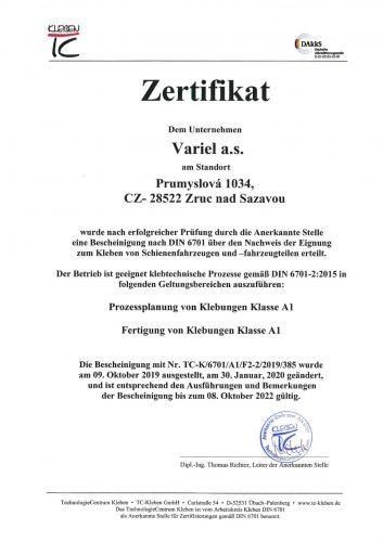 DIN 6701 - německá mutace